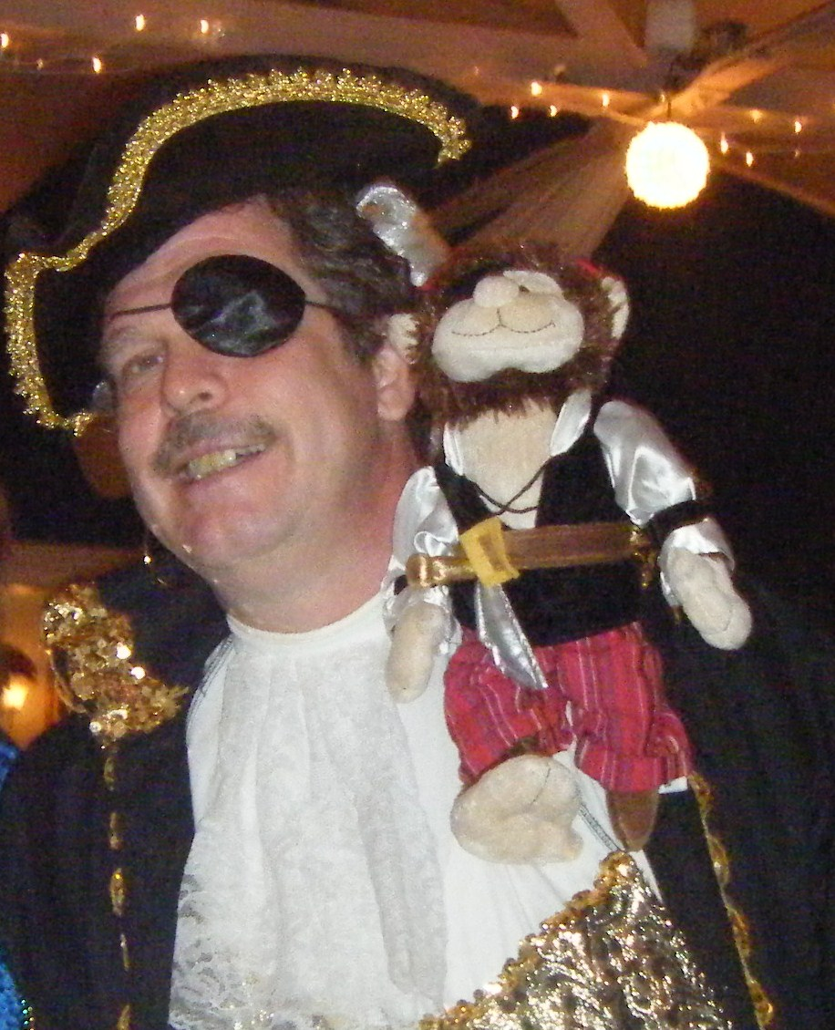 Pirate David and Monkey